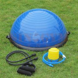 58см баланс инструктор стабильности половина шарик Bosu шаровой шарнир с сопротивление полосы