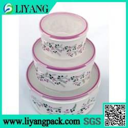 Pink and Blue Flower and HEAT Transfer Film Plastic