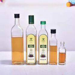 100ml-1000ml Quadrada Óleo Vidro Garrafa de vinagre