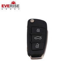 Clé de voiture à trois boutons pour différents types de voitures