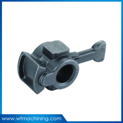 Hierro gris de la OEM de piezas de acero al carbono Casting de polea