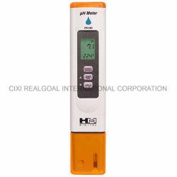 デジタルpH80すべてのpHのテスト水のための防水専門のPH計pHのテスター