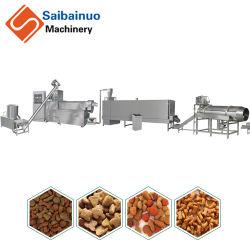 Saibainuo automatische trockene Tierhaustier-Hundekatze-sich hin- und herbewegendes sinkendes Fisch-Zufuhr-Tabletten-Produktions-Imbiss-Nahrungsmittelaufbereiten, Strangpresßling-Extruder-Maschine herstellend