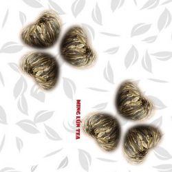 Tesoro de oro de China el té de flores hechas a mano
