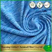 Garen het van kationen van de Heide van de Polyester/Melange Garen (bi-Kleurstof)