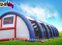 Compensação de Paintball infláveis grande tenda para Jogos de Paintball