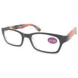 Nouveau mode de lecteurs optiques à caractère personnel de vente à chaud de haute qualité à bas prix des lunettes de lecture de bambou en bois coloré châssis plastique