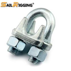 締める物は鋼鉄が低下に電流を通したG450の造った私達をタイプワイヤーロープクリップ(セリウム、SGS、BV、ISO)