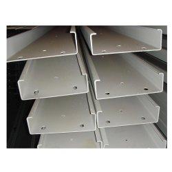 건축을%s Q235B Ss400 찬 구부리는 C 유형 찬 형성된 단면도 강철