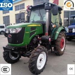 Tractor agrícola de China barata 70Cv 4WD Tractor agrícola Maquinaria agrícola