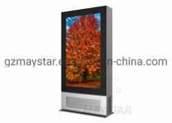 Personalizar o Windows ou o Android PI65 Grande Ecrã táctil LCD interactiva Telas Exterior exterior à prova de publicidade exibe um quiosque Digital Signage para venda