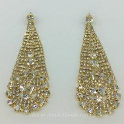 Luxuxbankett-Ohrringe mit bezauberndem Eardrop der Abend-Kleid-Damen