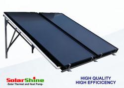 Placa plana de alta calidad Panel colector solar térmico adecuado para la casa residencial y comercial el Centro de proyectos de sistemas de calefacción solar de agua