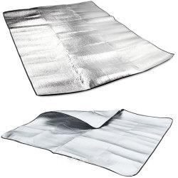 Film en aluminium avec isolation thermique en mousse EPE Le tapis de plancher