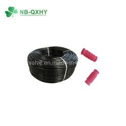 L'irrigation au goutte à goutte en plastique du tuyau avec Round goutteur pour serre agricole