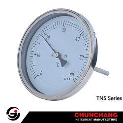 Корпус из нержавеющей стали с латунными Thermowell термометр