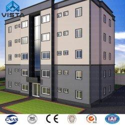 Estrutura de aço de metal prefabricadas Prefab Frame Apartment Hotel