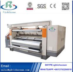 Grande velocidade única face de papel ondulado fazendo a máquina