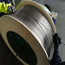 ASTM 304, 316, 317, 904, 2205 tubos de la bobina de acero inoxidable integrada para la industria y construcción de la hoja