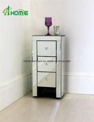 Miroir vénitien avec des Tables de Chevet 3 tiroirs Home Meubles Meubles de haute qualité