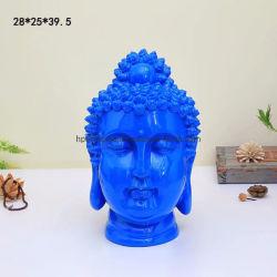 Современной моды яркие Будды в пластмассовый статую интерьера элементы