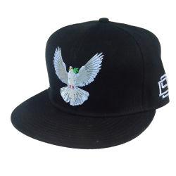 カスタムバイザーのゴルフ帽の高品質3Dの刺繍の平らなビルの急な回復の帽子の方法スポーツの綿の大人の野球帽