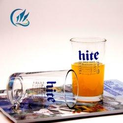 Prix bon marché forme ronde en verre clair droites tasse de thé&Bouteille de thé