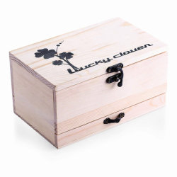 Multifunctionele Solid Wood Sewing Box Naaiaccessoireset