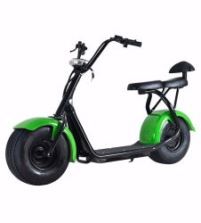 Promotie Groene Krachtige Elektrische Autoped 1000W