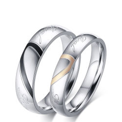 Mode en New Design Magnet Ring Jewelry for Gifts