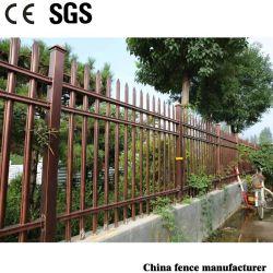 Dekorative und schützende Puder-überzogene Sicherheits-Aluminiumgarten-Zaun für Landhaus/Garten/Wohnhaus