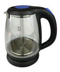 Высокая частота стекла чайник с электронным управлением с рукоятки Anti-Scalding 1,8 л