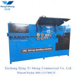 macchina piegatubi di CNC della piegatrice di 4-12mm della staffa automatica del tondo per cemento armato