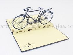 بطاقة الدعوة إلى بطاقة الدعوة لدراجة مخصصة ثلاثية الأبعاد