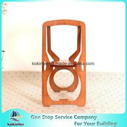 Muebles de bambú del bambú de la silla de plegamiento de la silla de la madera contrachapada de bambú