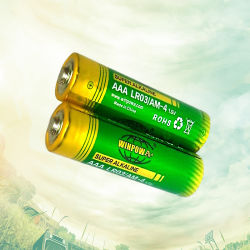 Batterij van de AMERIKAANSE CLUB VAN AUTOMOBILISTEN van 1.5 Volt de Primaire Droge Alkalische Lr03 Um4 voor Afstandsbediening