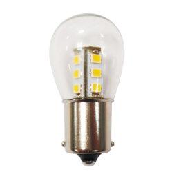 مصباح LED للغطاء الزجاجي Ba15 s Bayonet