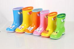 De nieuwe Laars van de Regen van pvc van de Manier, de Populaire Laarzen van de Regen van het Jonge geitje van de Stijl, de Transparante Laarzen van het Jonge geitje, de Populaire Laarzen van het Kind, de Schoenen van de Regen van de Kinderen van de Mode