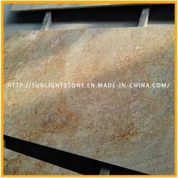 La India Imperial de granito de oro de losas de piedra de granito/Vanidad Tops/Encimeras