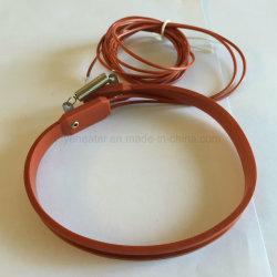 Caucho de silicona flexible de la correa de elemento de calefacción