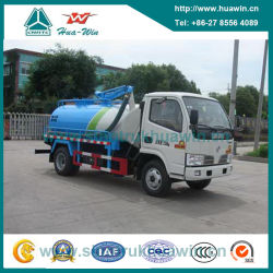 Carrello Di Aspirazione Per Sanificazione Fecale Dongfeng 4x2