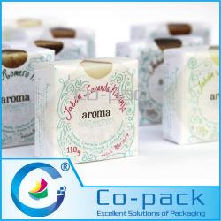 Laminado de plástico de envolver en papel de embalaje Hoja de jabón