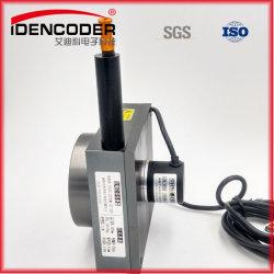 Tirer le fil de sortie numérique du capteur de déplacement 4m du potentiomètre de la chaîne de mesure