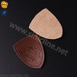 Sinicline souple de haute qualité en cuir véritable pour la veste de patch