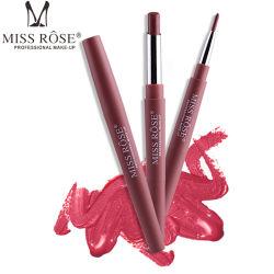 숙녀의를 위한 Lip Beauty 1개의 입술 메이크업 광택이 없는 입술 강선 립스틱에 대하여 최신 판매 분홍색 콘테이너 2