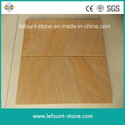 Branco/Amarelo/Verde/Vermelho/Roxo/aperfeiçoou/ Sandstone para ladrilhos/lajes/Pavimentação Fachada-/Piso/pedras naturais