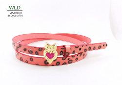 Сова Buckl моды Leopard PU Жан ремень для леди (KY5315)
