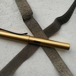 Xtaa073 banhado a prata pura de Nylon condutiva com gancho e Blindagem Fita Radiação de ondas eletromagnéticas 25mm de largura