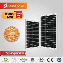Rosen небольшую панель 12V 20W модуль солнечной энергии на лодке