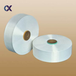 Ruw wit 1/2-staps polyestergaren 135D/108f voor het Knitten